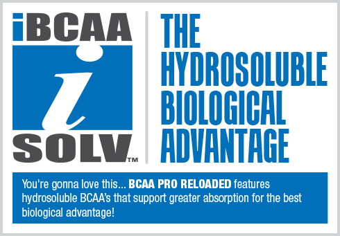 BCAA Pro Reloaded - Hydrosoluble Biological Advantage