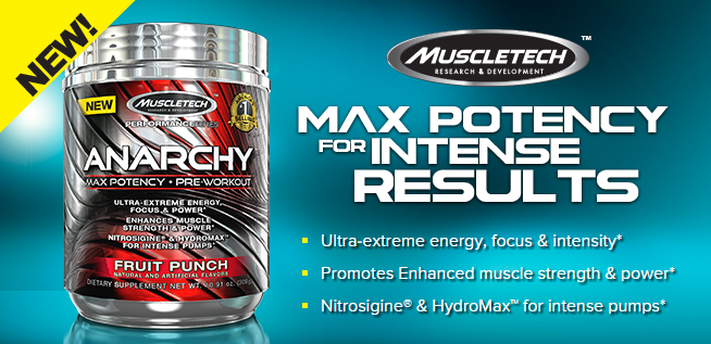 MuscleTech NZ Pre-Workout