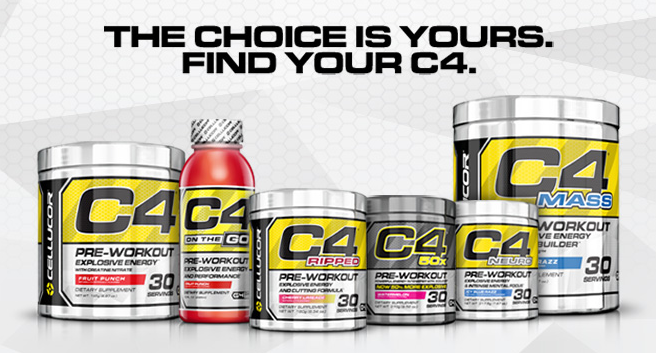 Cellucor Advert